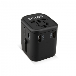 Solos Universal Travel Adapter