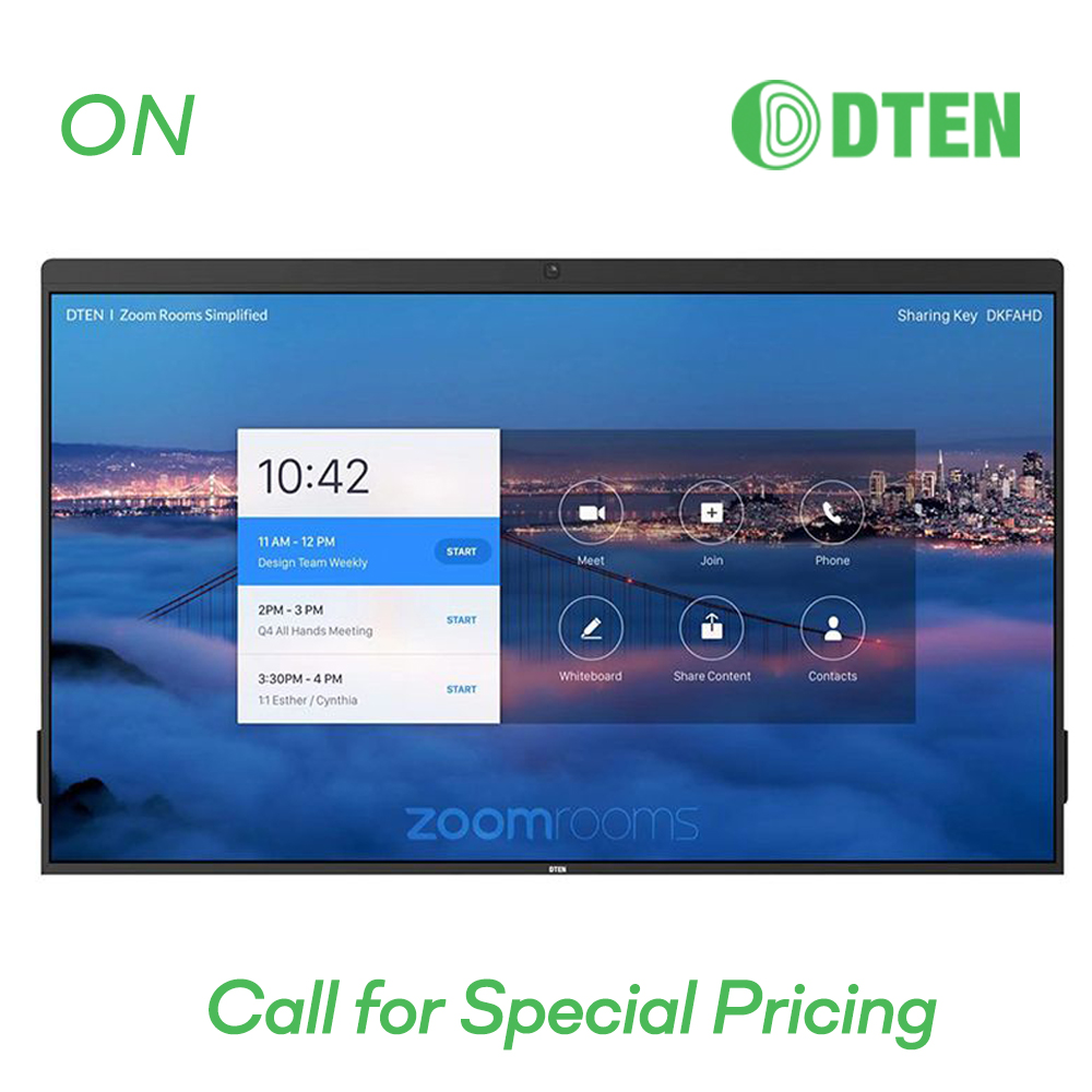 """DTEN ON SERIES 55"""" All-in-One Zoom Rooms Appliance"""