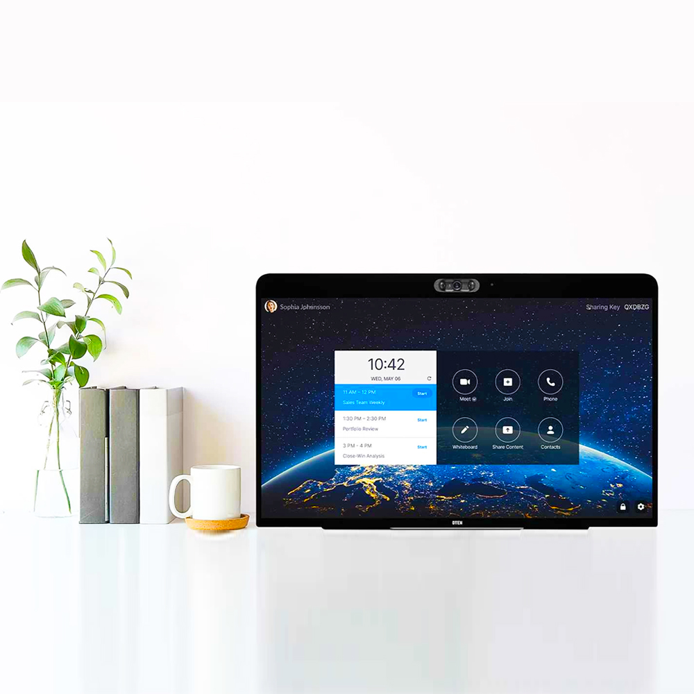 DTEN ME 27″ Zoom for Home, All-in-One Personal Video Collaboration Device