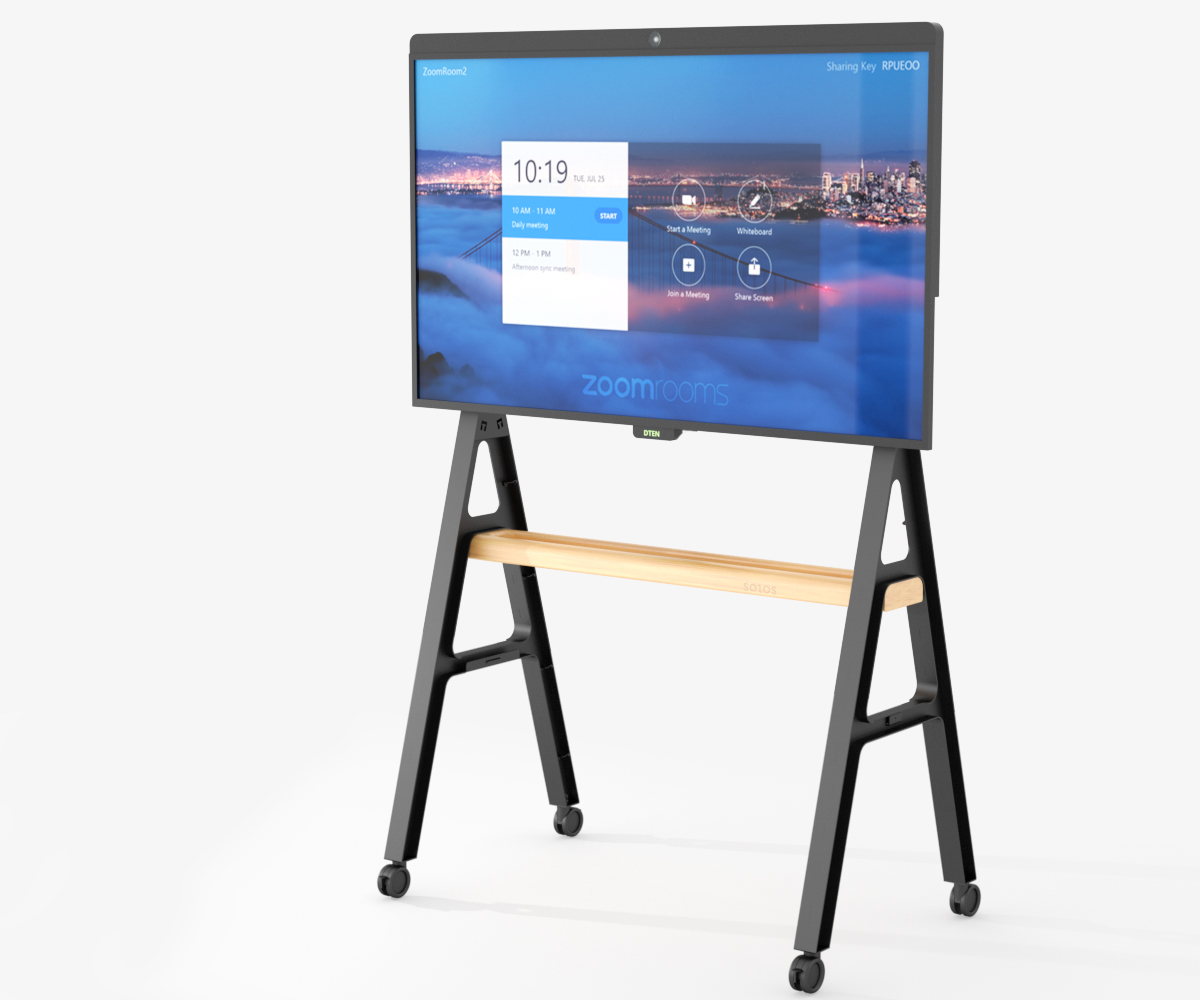 The Best All-in-one Video Collaboration Solution of D7, AV Cart and Zoom