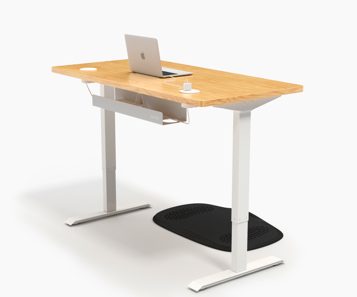 SOLOS Standing Desk Makes Work Smarter with Its Numerous Desk Accessories