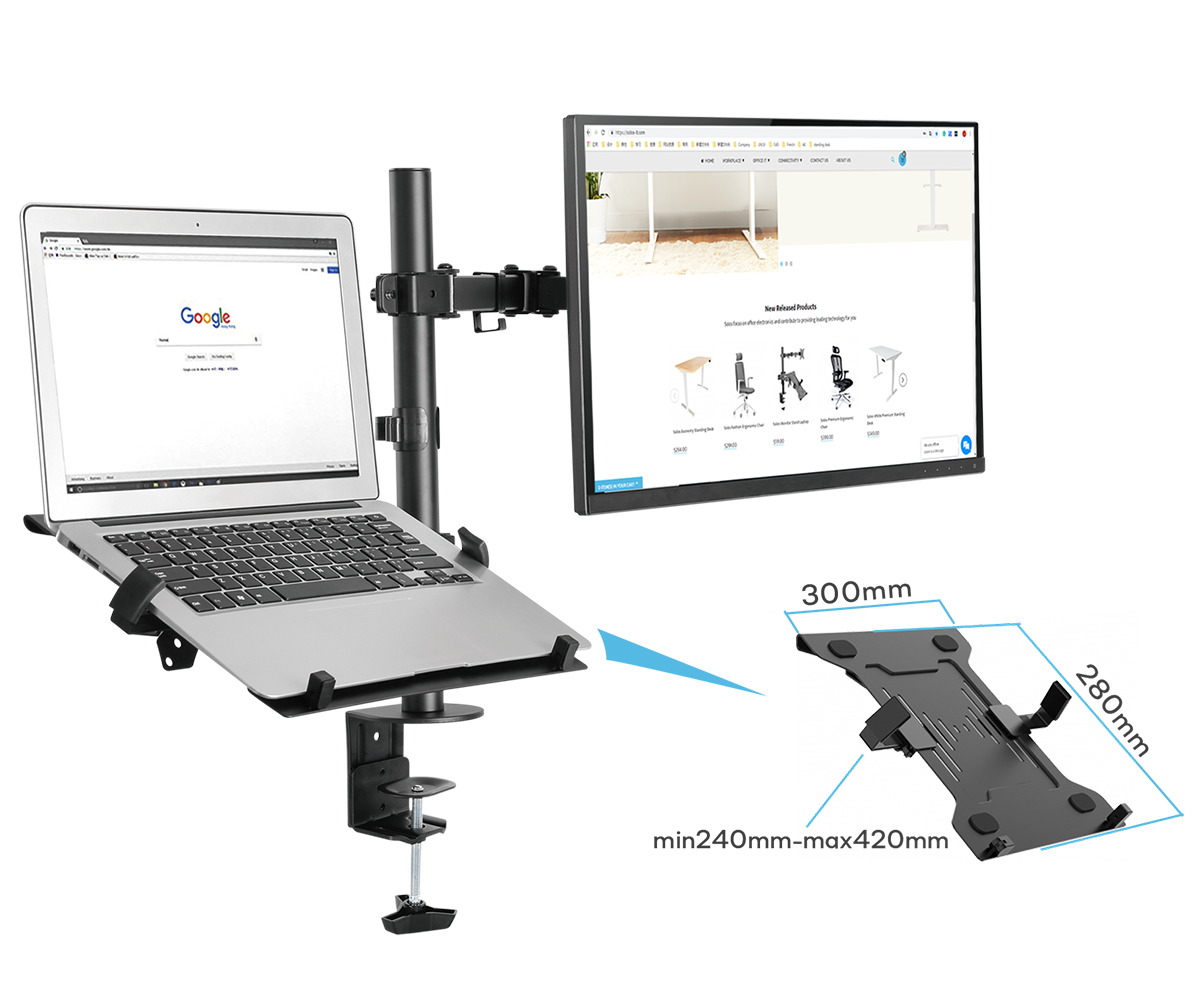SOLOS Monitor Laptop Arm is An Ergonomic Solution According to Your Preferences