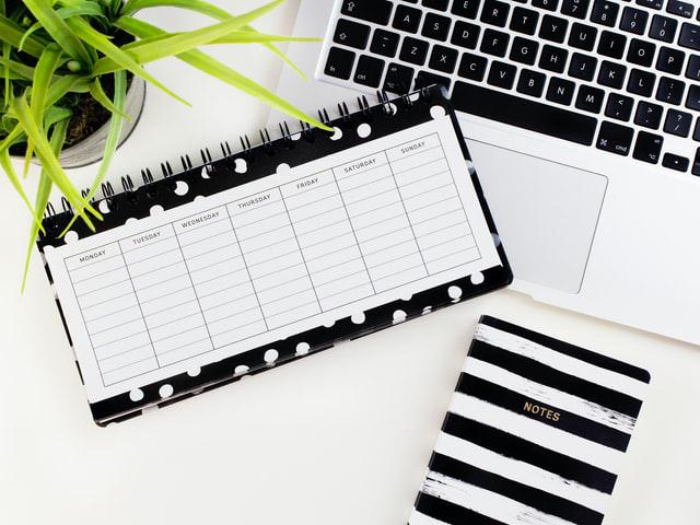 Create a work schedule
