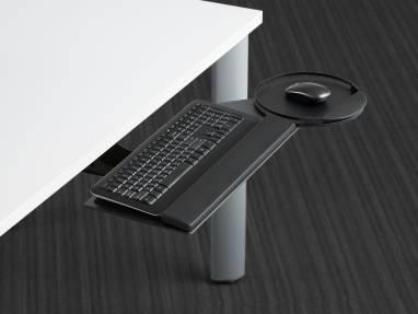 Under desk keyboard